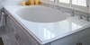 DL-12209 Rhythm White Quartz Slab Counter Top