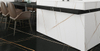 DL-21610 Lauren White Gold Quartz Slab Counter Top