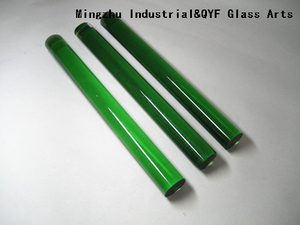 Color Pyrex Glass Rods With COE33-Light Green