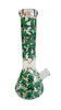 QYF2483-9 mm glass bongs with enamel Hulk figures