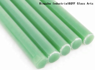 China TY Color Borosilicate3.3 Glass Rods-Milky Green