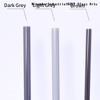 Color Borosilicate Glass Rods With COE33-Grey