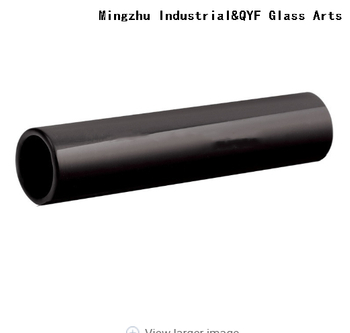 Opaque Black Borosilicate 3.3 Glass Tubing