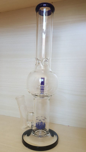 QYF2380--Matrix Glass Smoking Water Pipes