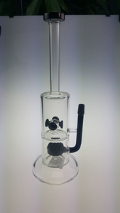 QYF2378--Glass Bongs with Wind Chime Percolator