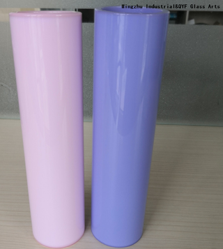 Milky Blue Color Borosilicate3.3 Glass Tubes