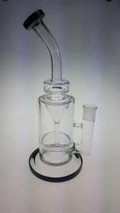 QYF2359--Glass Water Pipes for Dry Herbs And Tobacco Smoking