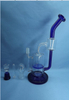 QYF2303-Pyrex Glass Bongs with Water Recycle Function