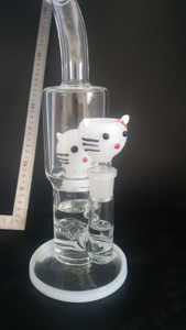 QYF2401--Hello Kitty Glass Bongs for Women Smoker